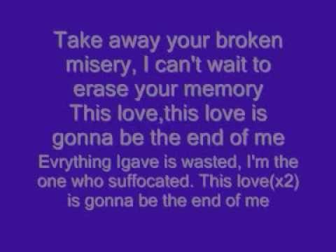 End of me Apocalyptica -lyrics!!!!!!!!
