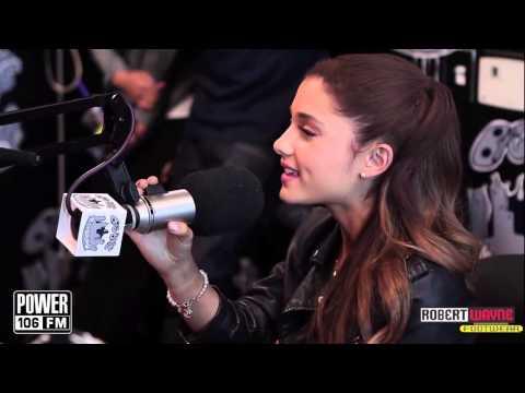 Ariana Grande high notes imitating a baby