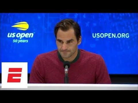 2018 US Open press conference: Roger Federer talks upset loss to John Millman | ESPN