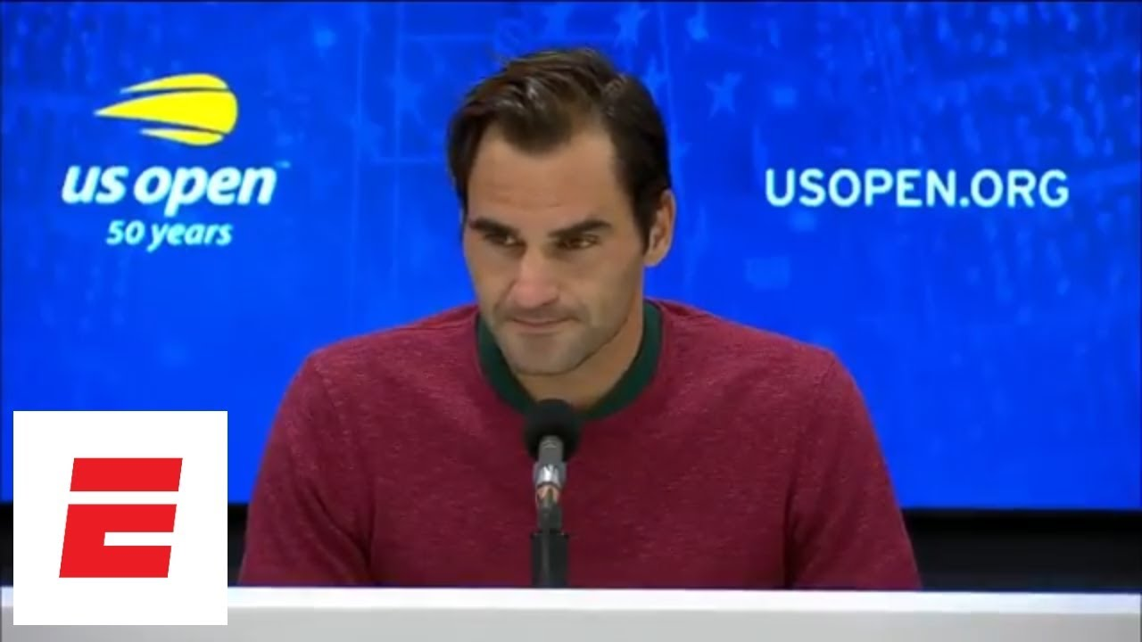 2018 US Open press conference: Roger Federer talks upset loss to John Millman | ESPN