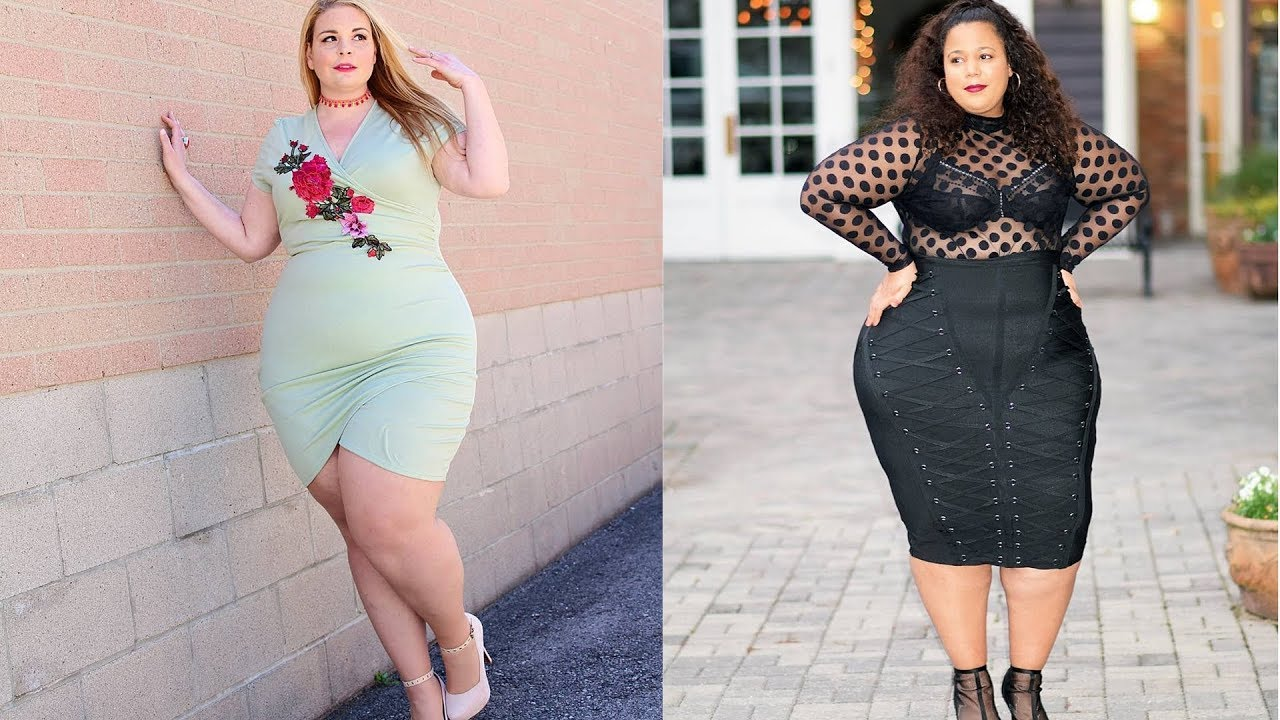 Stylish Curvy Dresses|Plus Size Curvy Fashion - YouTube
