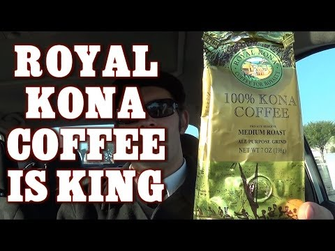 Royal Kona Coffee from Hawaii is 100% Good (Snacking On The Run Ep 4)