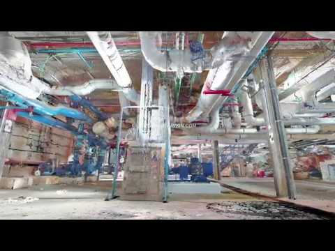 Laser Scanning - Machines Room 3D Point Cloud