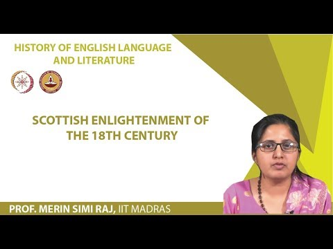 Lecture 11 - Scottish Enlightenment of the 18th Century
