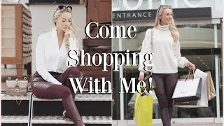 Come Shopping With Me!  McArthurGlen Designer Outlet & HAUL!   |  Fashion Mumblr  #VLOGTOBER