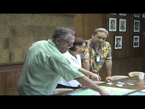 Honolulu BWS Contest Judging - 2009 Water Conservation Week Poster/Poetry Contests
