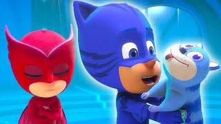 PJ Masks en Español Los mejores poderes de los superhéroes - Nueva recopilación - Dibujos Animados