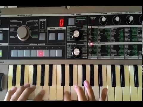 Pee Wee Gaskins - Dari mata Sang garuda ( Synthesizer cover by freeonTS )