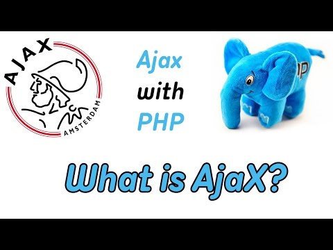 AJAX AND PHP.WHAT IS AJAX.PROGRAMMING COURSE.VIDEO TUTORIAL