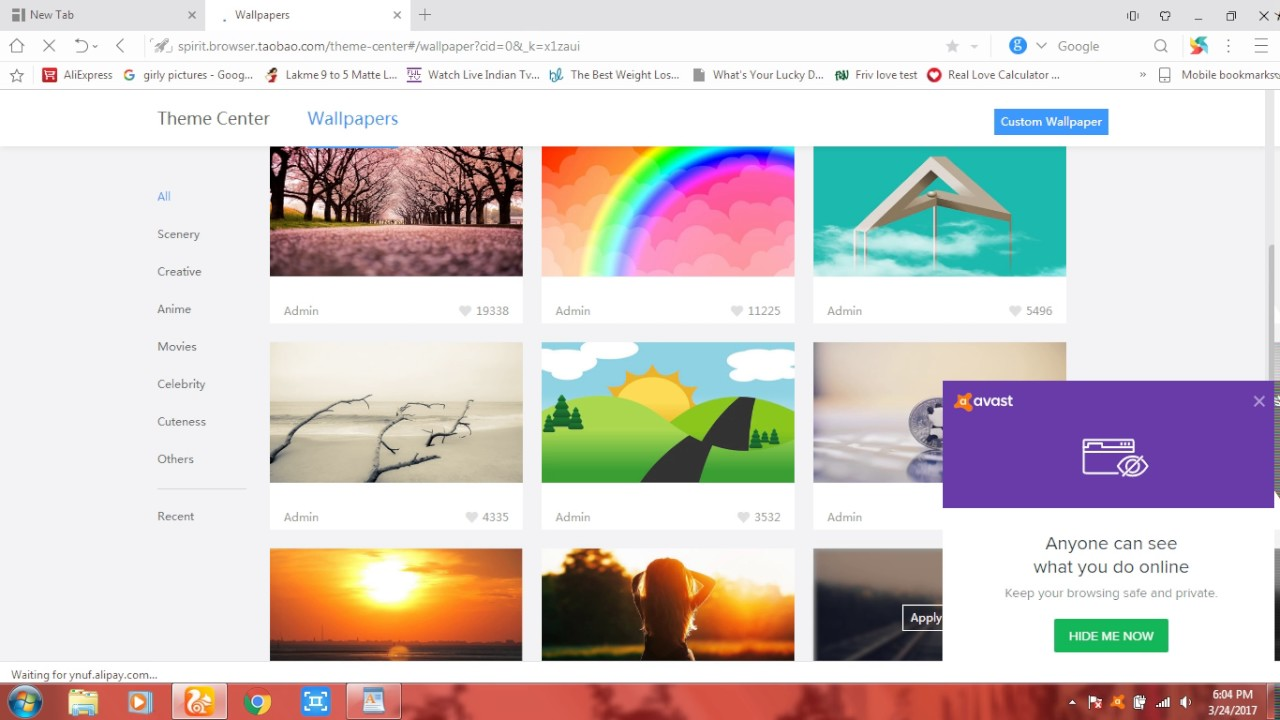 HOW TO CHANGE UC BROWSER WALLPAPER IN PC