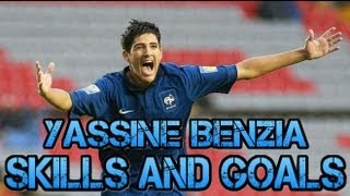 Yassine Benzia | Young talented player | skills and goals !
