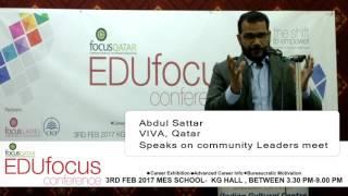 Abdul Satar VIVA Qatar-EDUfocus