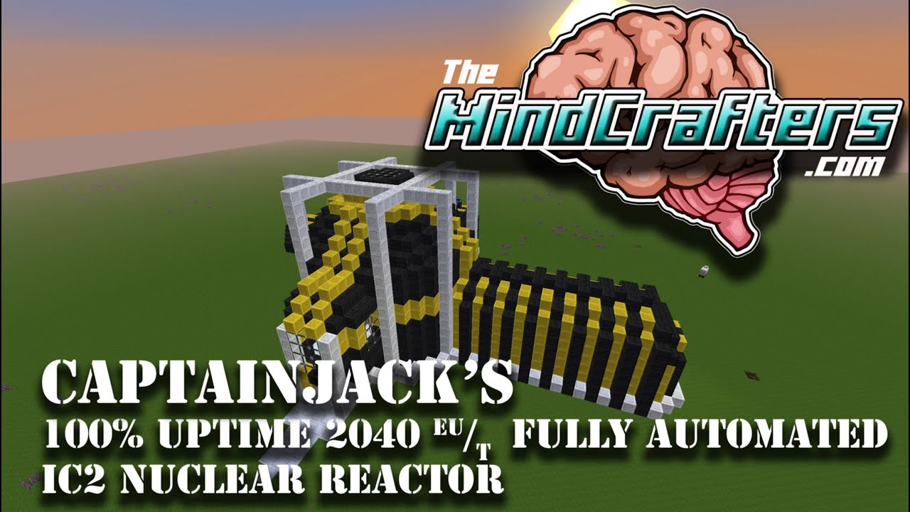 100 Uptime 2040 Output Ic2 Nuclear Reactor Tekkit Lite Youtube