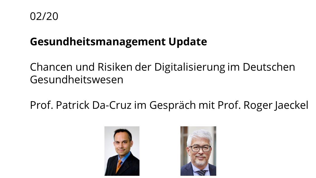 Chancen und risiken der digitalisierung