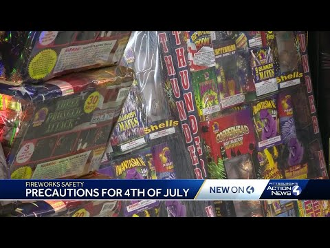 Damian Rhodes - PA FIREWORKS - What You Need to Know for the 4th of July