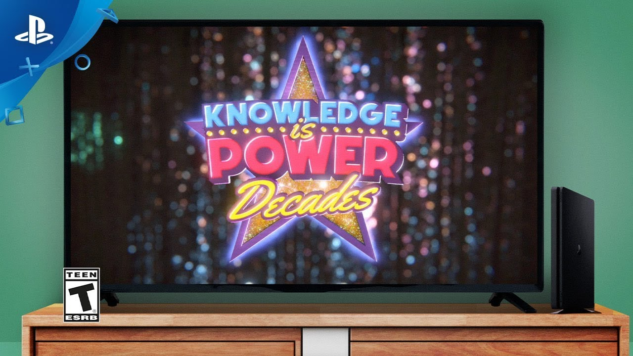 Knowledge is Power - Decades Launch Trailer | PlayLink for PS4
