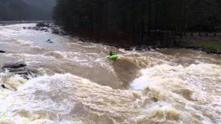 Flooding Ocoee River Christmas Kayakers