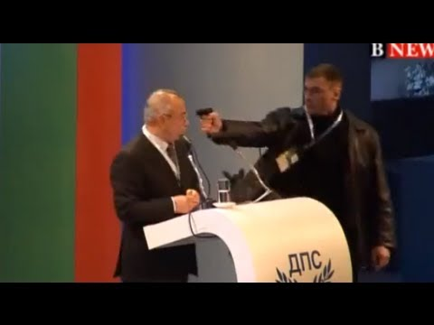 Dramatic Bulgarian Assassination Attempt (VIDEO)