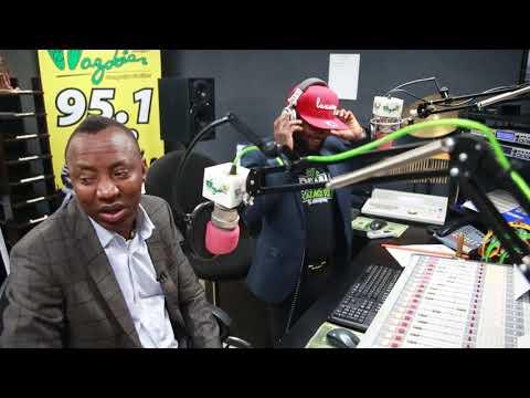 Omoyele Sowore Interview With Wazobia 95.1 Kano
