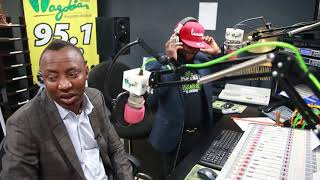 Gambar cover Omoyele Sowore Interview With Wazobia 95.1 Kano