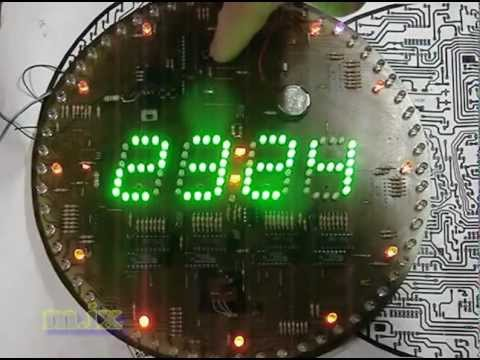 around digit led clock 60 led 160 Led wall clockиз YouTube · Длительность: 14 мин3 с