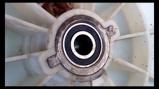 Самостоятельный ремонт стиральной машинки Samsung S1021(Разборка для замены подшипников барабана., 2014-09-08T07:23:44.000Z)