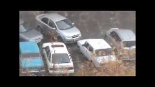 Repeat youtube video How to drive out of your parking spot when a car blocks you