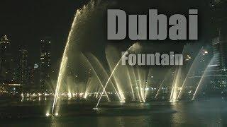 Dubai Fountain show: Hossam Ramzy- Enta Omri ( HD 1080/60P )