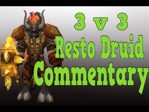 Resto Druid 3v3 | 2k Cr | Patch 7.1.5 | Claak