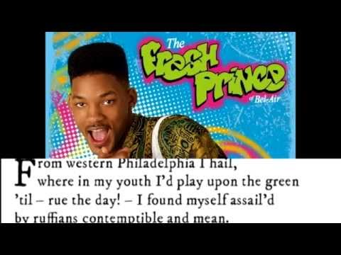 The Fresh Prince of Bel Air: THE SONNET (Pop Sonnets)