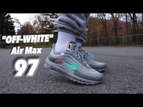Nike Air Max 97 Off White Review Plus On Feet Youtube