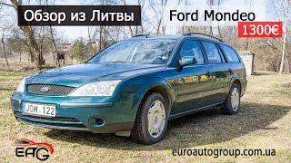 обзор из Литвы Ford Mondeo, 2001 г., 1300, 2.0 л., дизель, механика, универсал