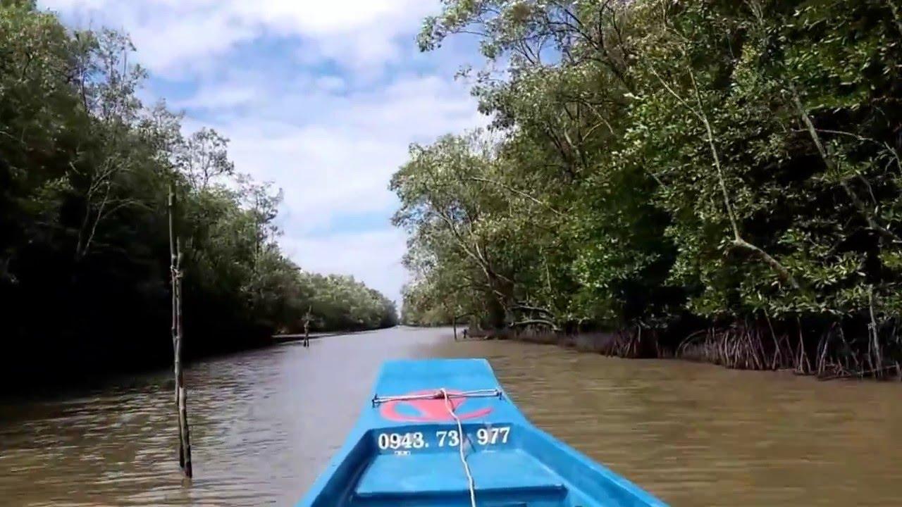 Phiêu lưu trên Sông nước Cà Mau - Rừng đước Năm Căn [Chanel DULICHBUI]