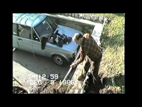 Il signor Merlini in giardino 3-12-1986