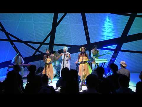 Lady Moon & The Eclipse - 7.83Hz (live at National Sawdust)