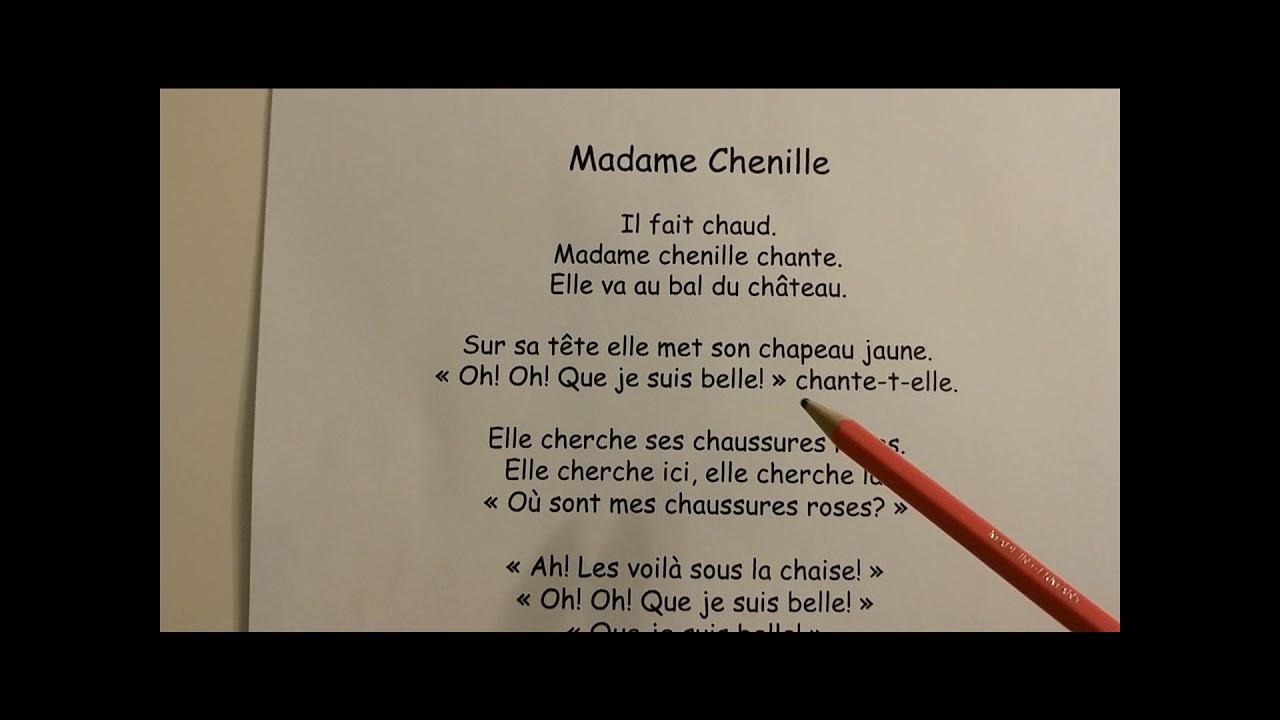 madame chenille versini