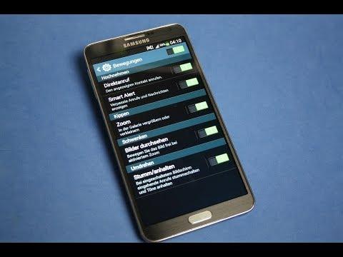 Samsung Galaxy Note 3 - Einstellungen/settings