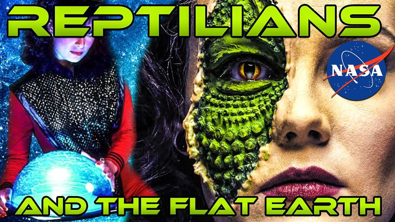 FLAT EARTH - Reptilians, Sith Lords, NASA and the Flat Earth ... The Truth in Movies