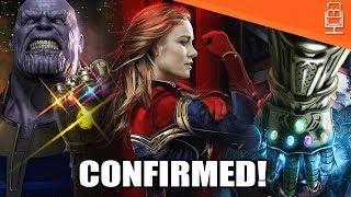 Captain Marvel CONFIRMED for Avengers 4 & Infinity War Update