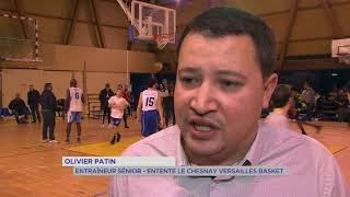 Basket : Le Chesnay-Versailles frôle l'exploit