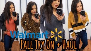 Walmart Fall Try On | Inside The Dressing Room | 2019