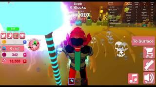 Roblox Mining Simulator relámpago Hammer