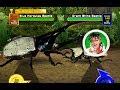 [アーケード] 甲虫王者 ムシキング - ヘルクレスリッキーブルー VS ネブ博士 [2006セ…
