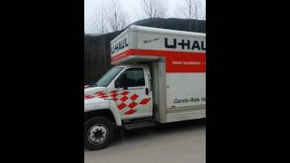 26 foot u haul truck with tow dolly