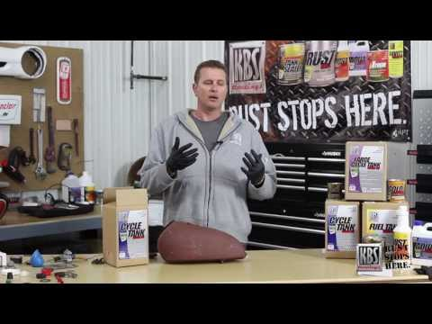 Sealing a Motorcycle Gas Tank with the KBS Cycle Tank Sealer Kit