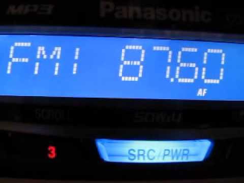 Image result for car radio 87.6