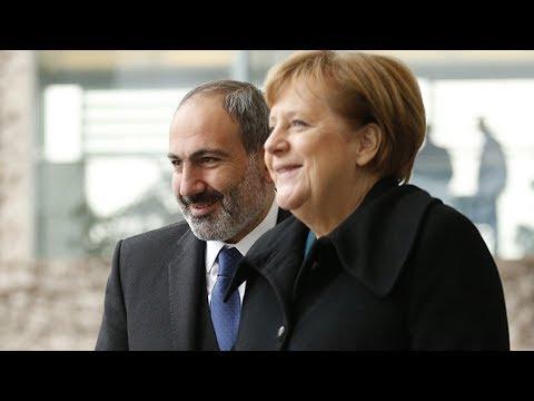 Армения и Германия. Пашинян встретился с Меркель. Главные темы