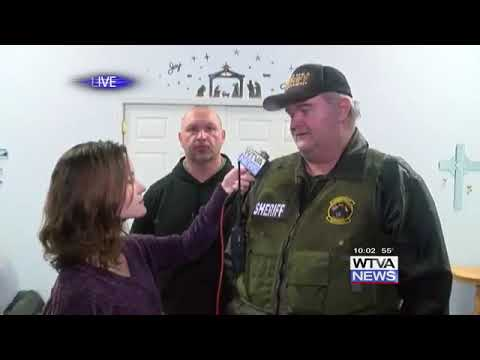 12/30/18: Itawamba County Sheriff Chris Dickinson on the end of the