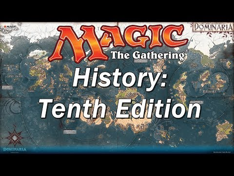 The History of MAGIC THE GATHERING | Tenth Edition, Changing Core Sets