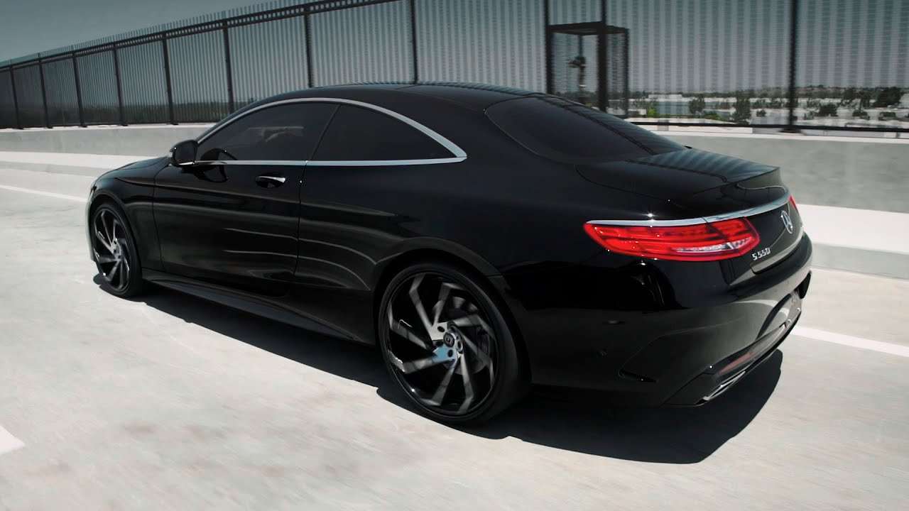 mercedes benz s550 4matic coupe 22 39 lexani wheels doovi. Black Bedroom Furniture Sets. Home Design Ideas